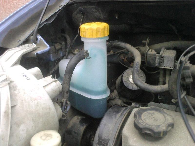 Замена антифриза на автомобиле Daewoo Matiz