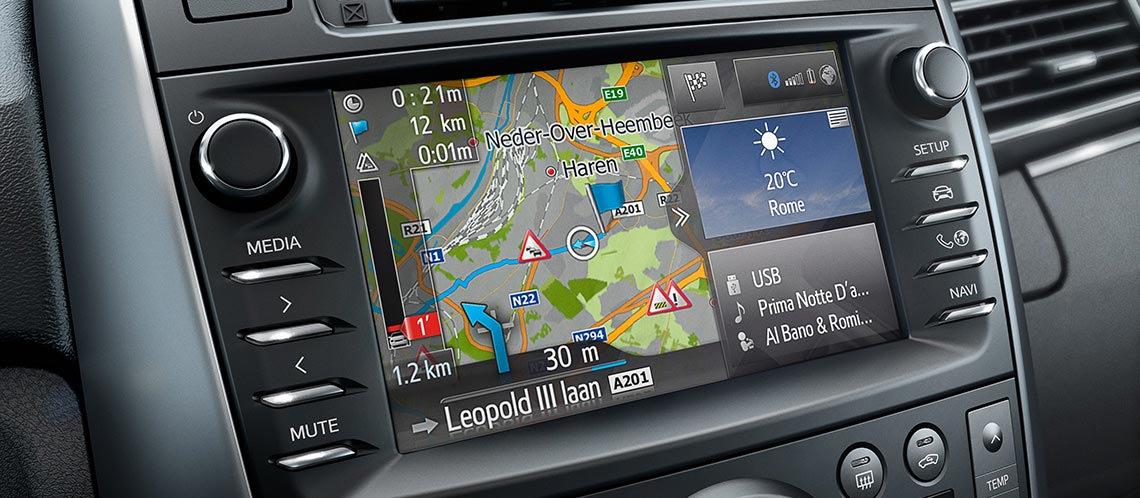 обновление карт навигации toyota touch