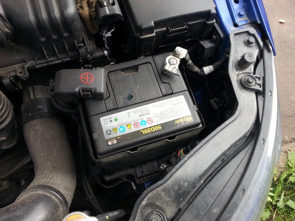 родной аккумулятор ситроен c-crosser