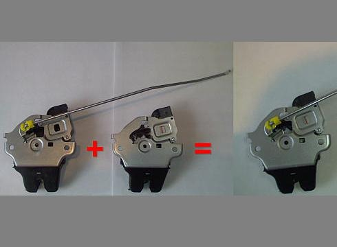 как отключить датчик багажника mitsubishi