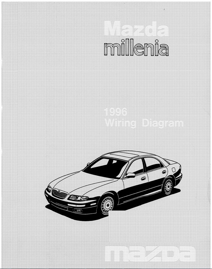 Литература по Маздам бортжурнал Mazda Efini Ms8 Klze 1993 года