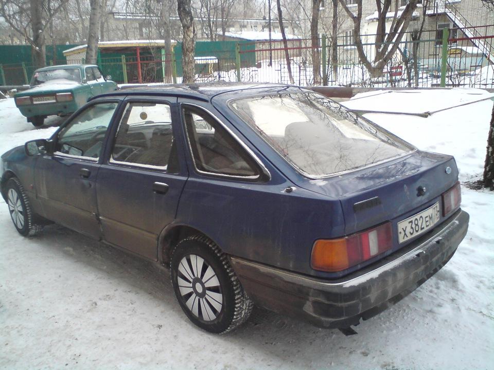 ford sierra приколы