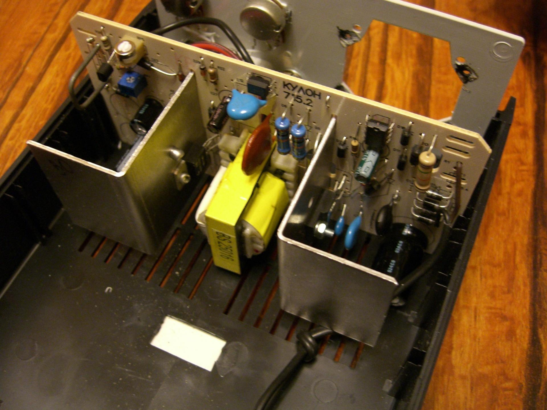 Зарядное устройство кулон 715а схема ремонт