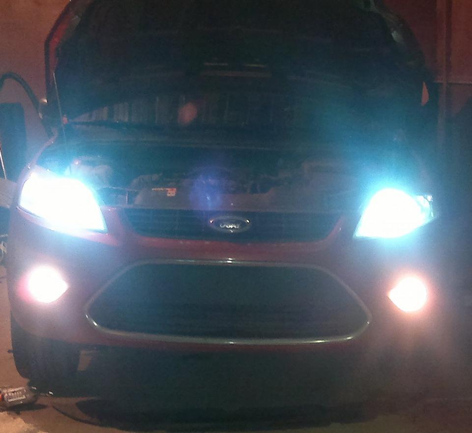 Ксенон на форд фокус 3 установка