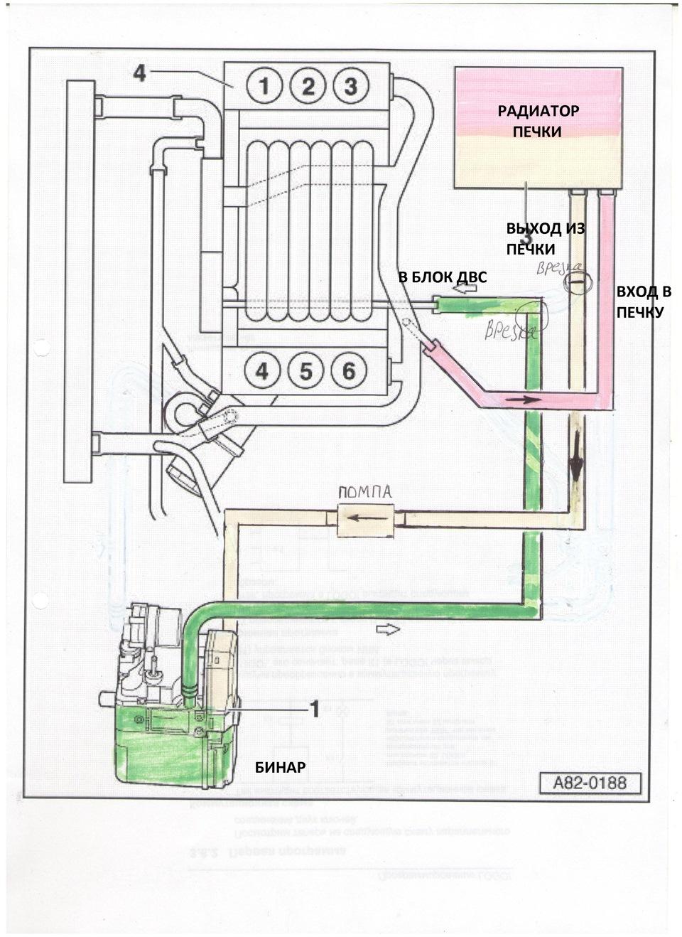 Схема установки бинар-5