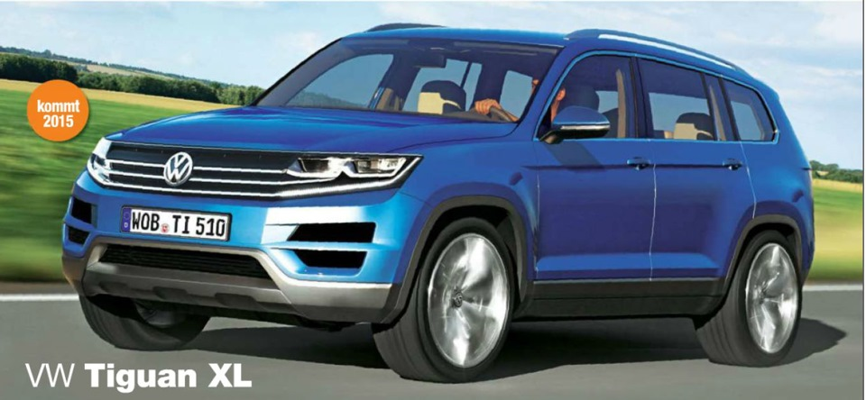 vw tiguan xl 2015 skoda snowman 2016 drive2. Black Bedroom Furniture Sets. Home Design Ideas