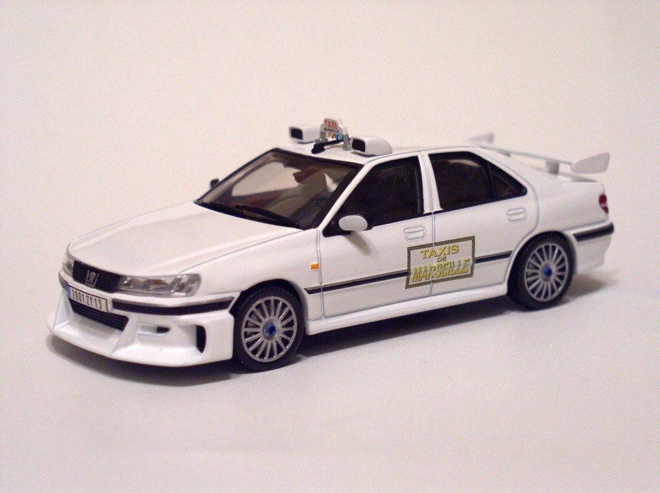 такси 2 игрушечная peugeot 406