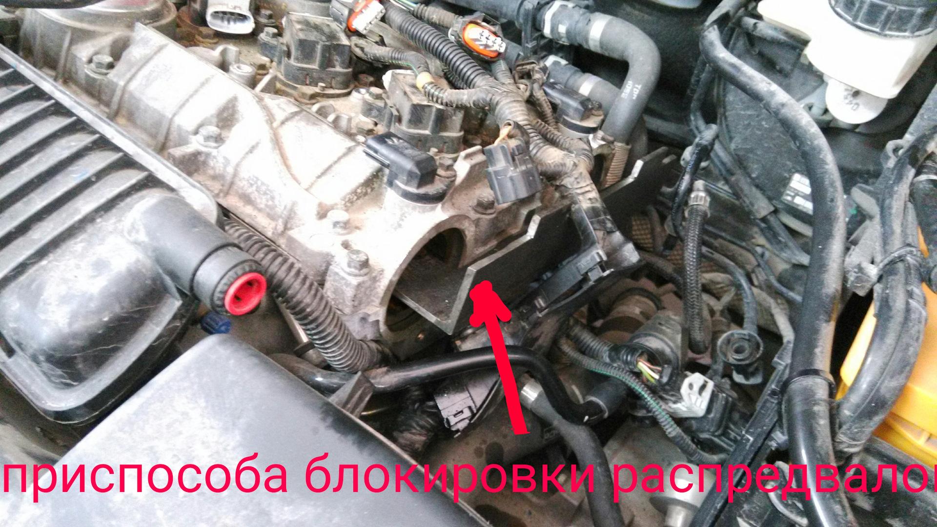 замена сальников грм ford 2.5t