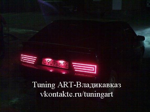 Задние светодиодные фонари 2109 своими руками