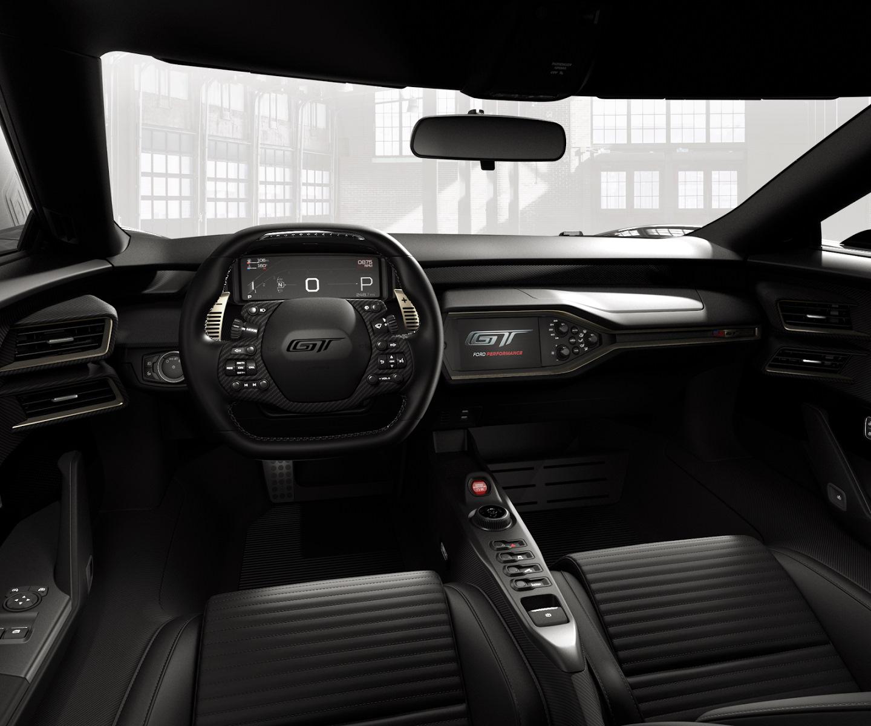 Картинки по запросу Ford GT салон