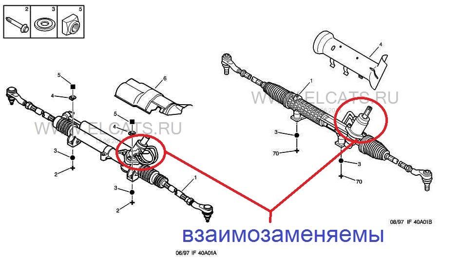 Ремонт рулевой рейки своими руками пежо 206 - ВМС Строй