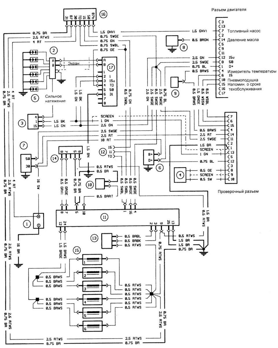 pinouts wiring diagrams bmw e30    e28 m20b20 l  motronic 1 3  u2014 drive2