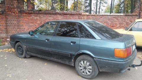 Audi 80 b3 russian tuning