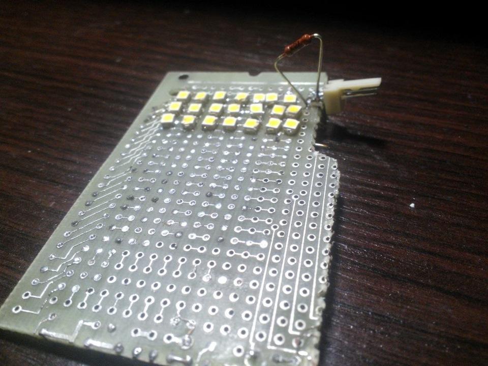 Светодиодная матрица своими руками фото 736