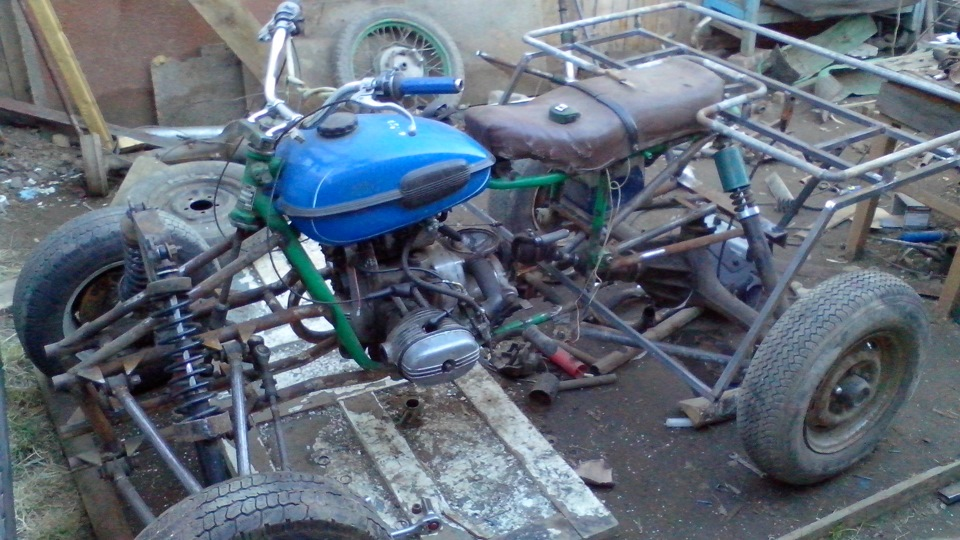 Мотоцикл своими руками из урала 91
