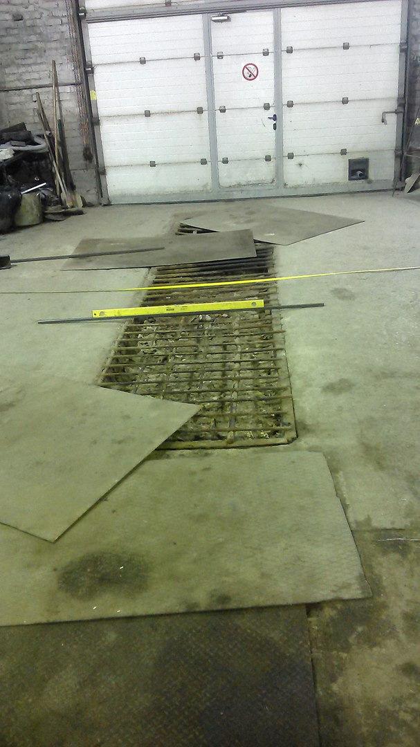 Каким должен быть пол под автоподъемник