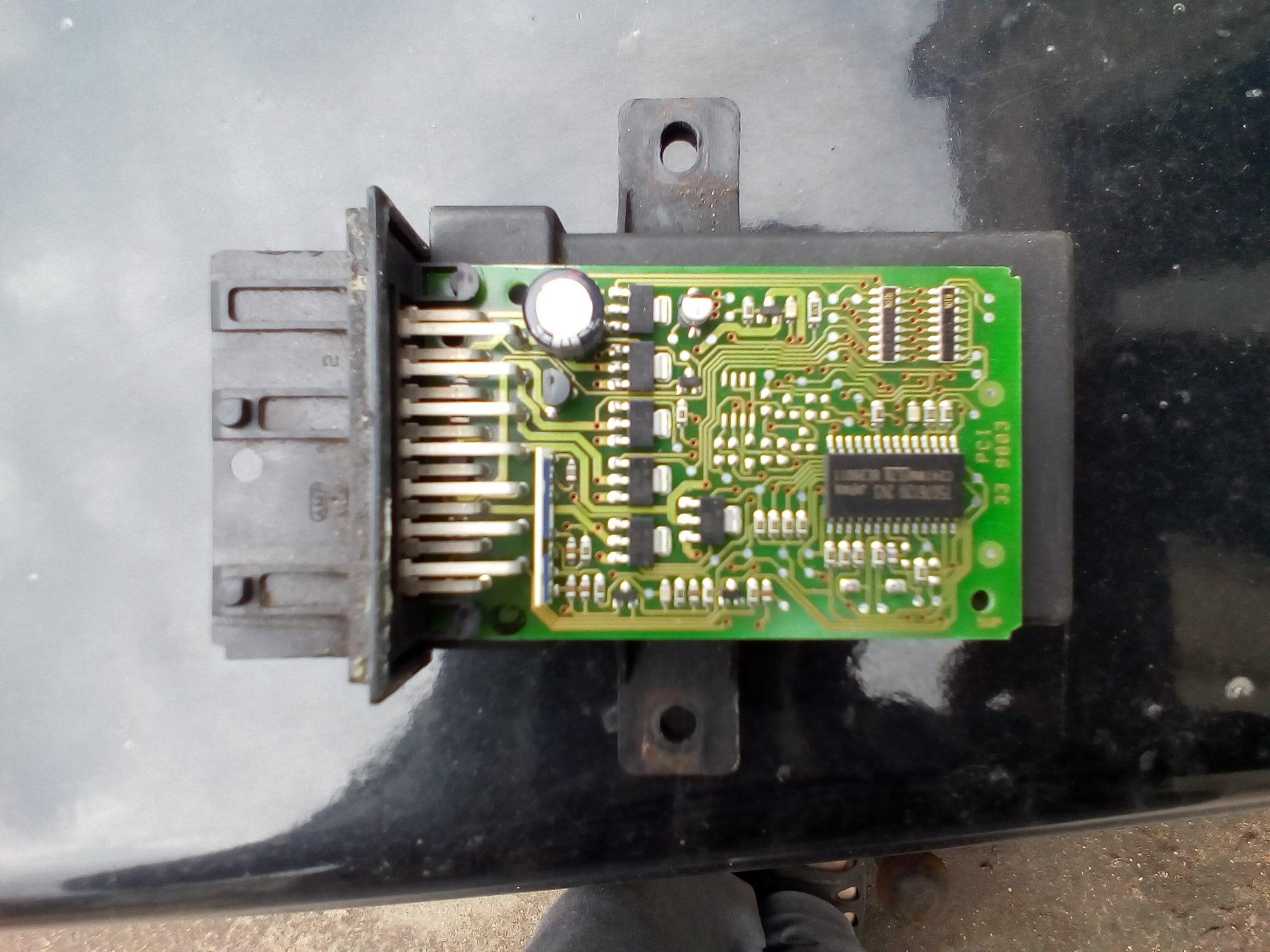 peugeot 605 управление оборотами вентилятора печки