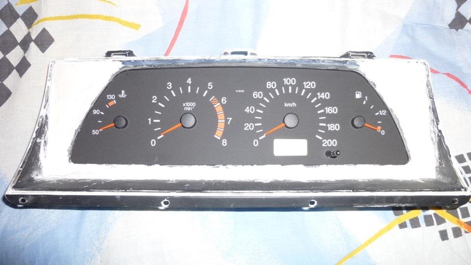 Фото №37 - приборная панель ВАЗ 2110 на ВАЗ 2107