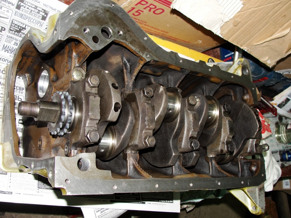Капитальный ремонт двигателя ваз 2107 своими руками