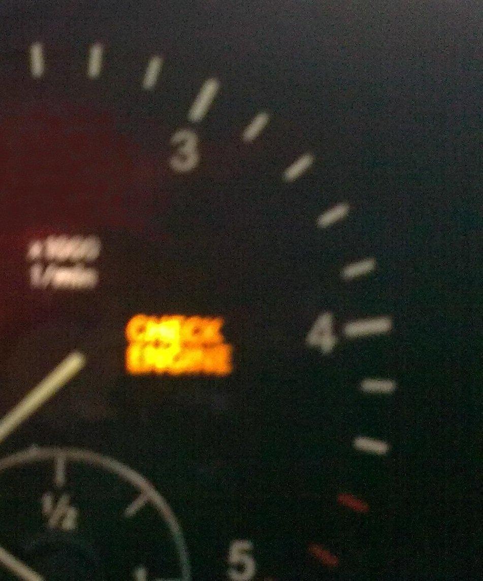 сбросить ошибку check engine на мерседес мl-350