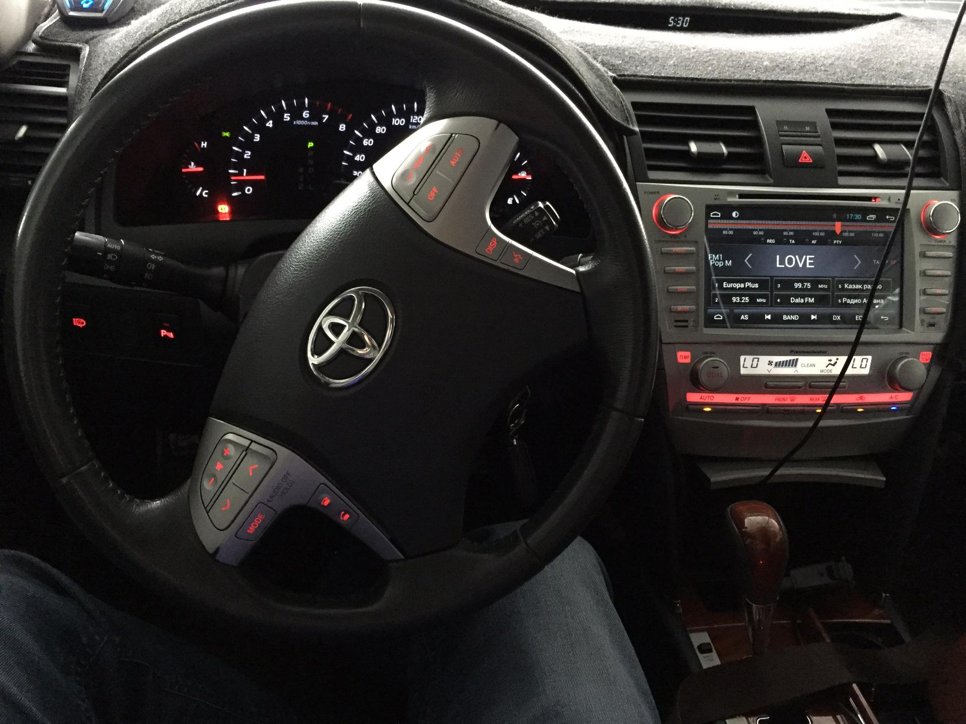 Штатные магнитолы для авто марки Тойота – это шаг в будущее