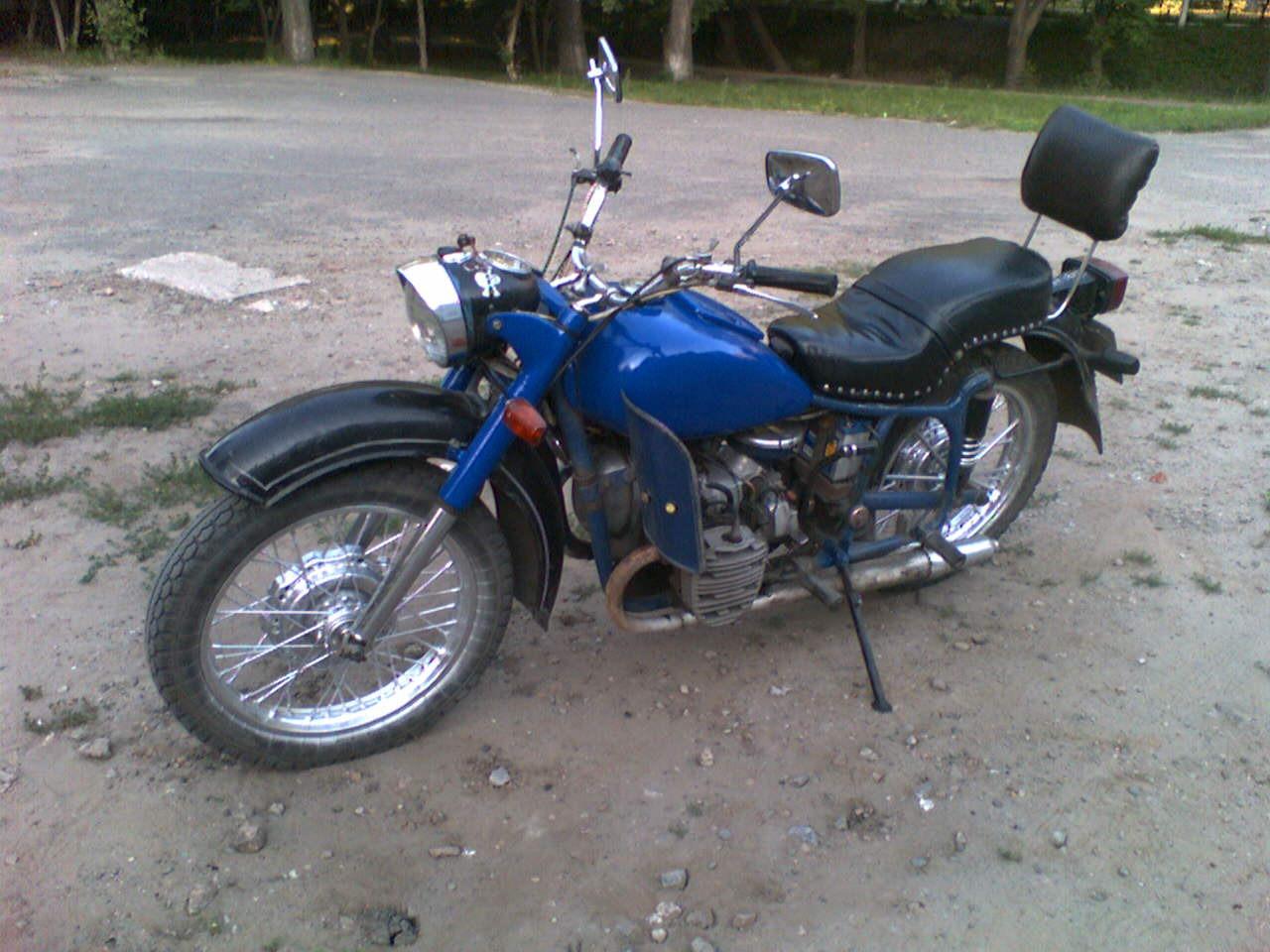 Фото мотоцикла к 750