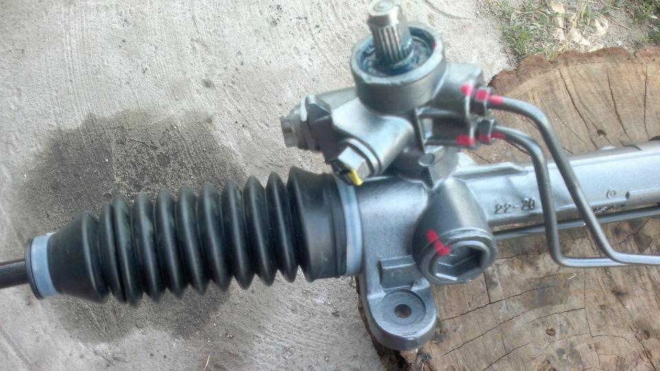 Механическая рулевая рейка фольксваген пассат б3 ремонт своими руками 52