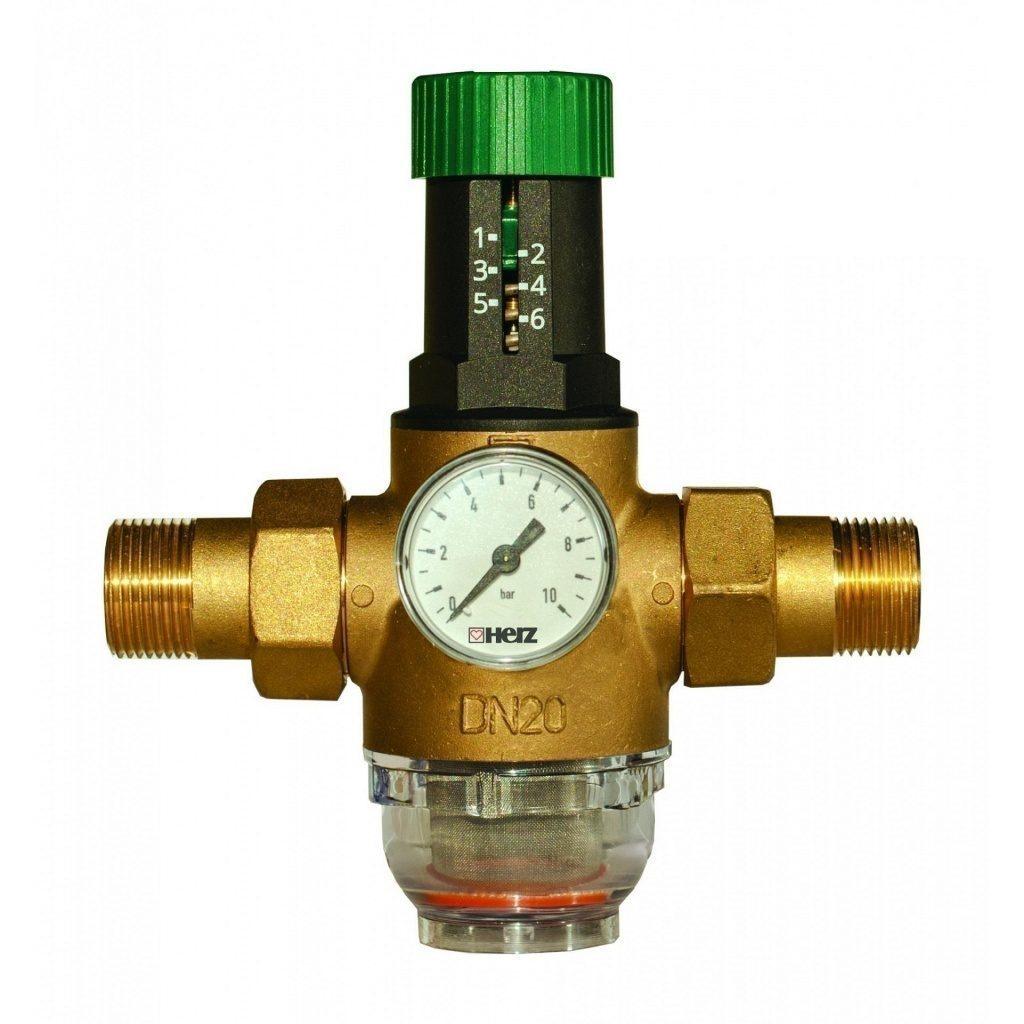 Редуктора давления воды схема