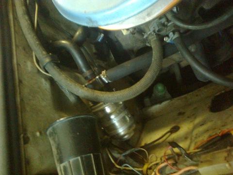 Фото №11 - установка дополнительной помпы на ВАЗ 2110