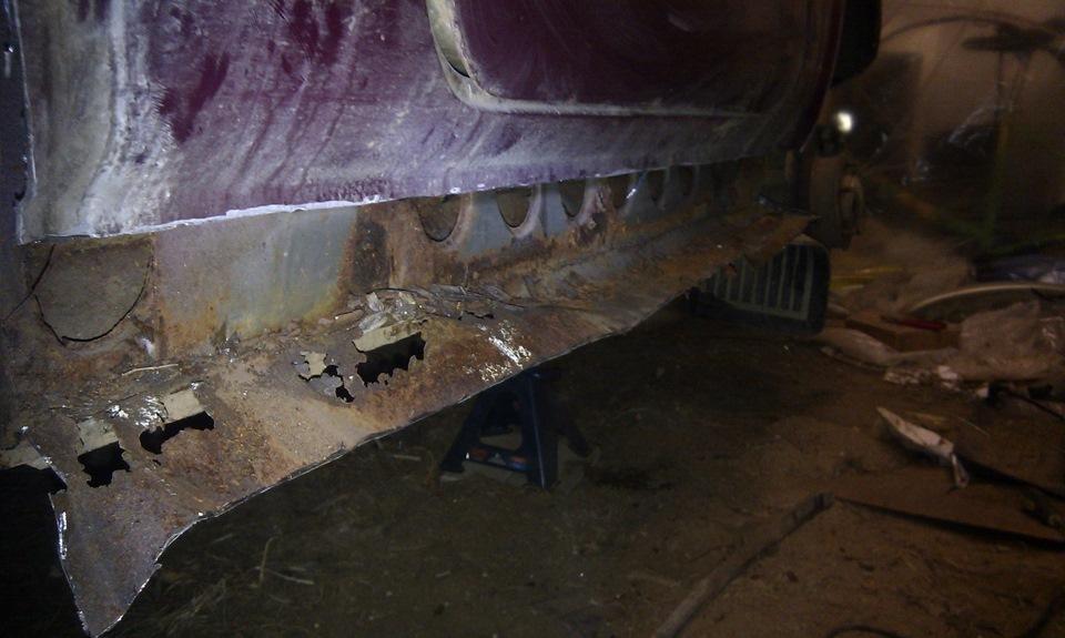 Кузовной ремонт 21213 своими руками 43