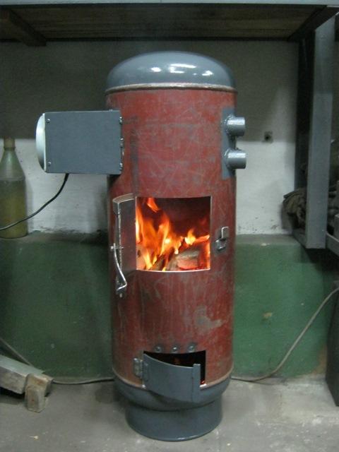Печка буржуйка своими руками из газового баллона своими руками