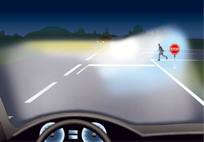 ближний свет на BMW e30