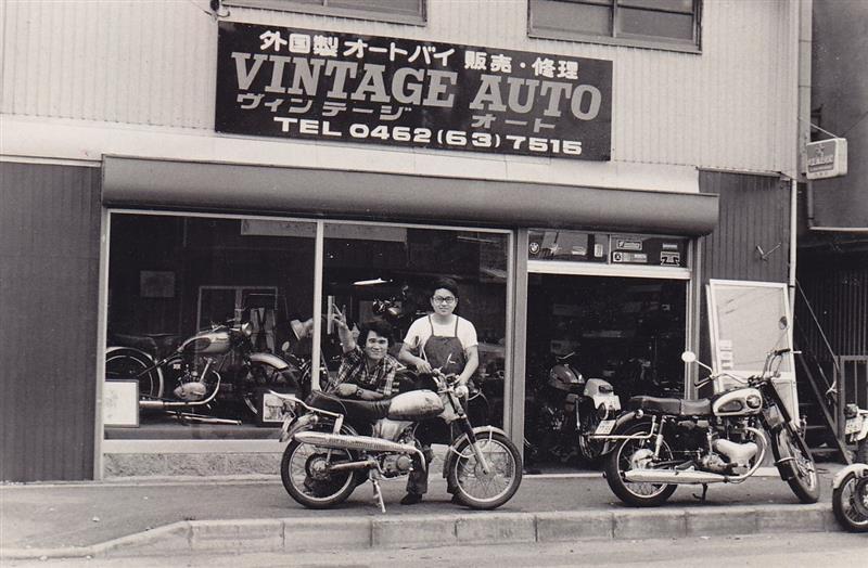 Один из многочисленных маленьких дилеров, специализирующихся на продаже и техобслуживании импортной мототехники