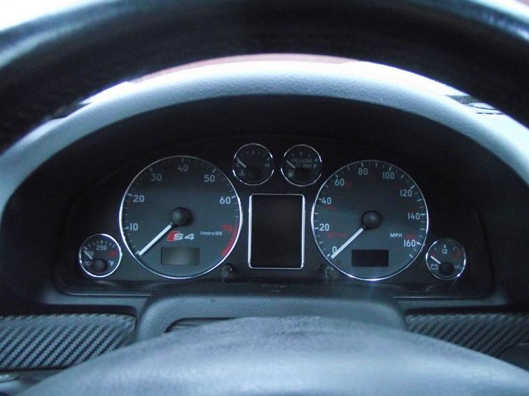 Приборка аля Audi A4 B6-B7.