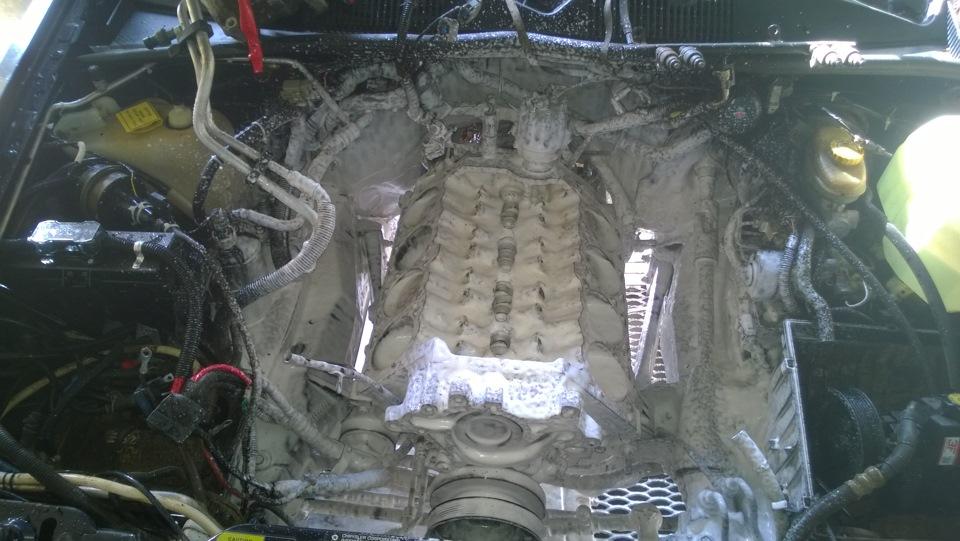 Частичный ремонт двигателя.
