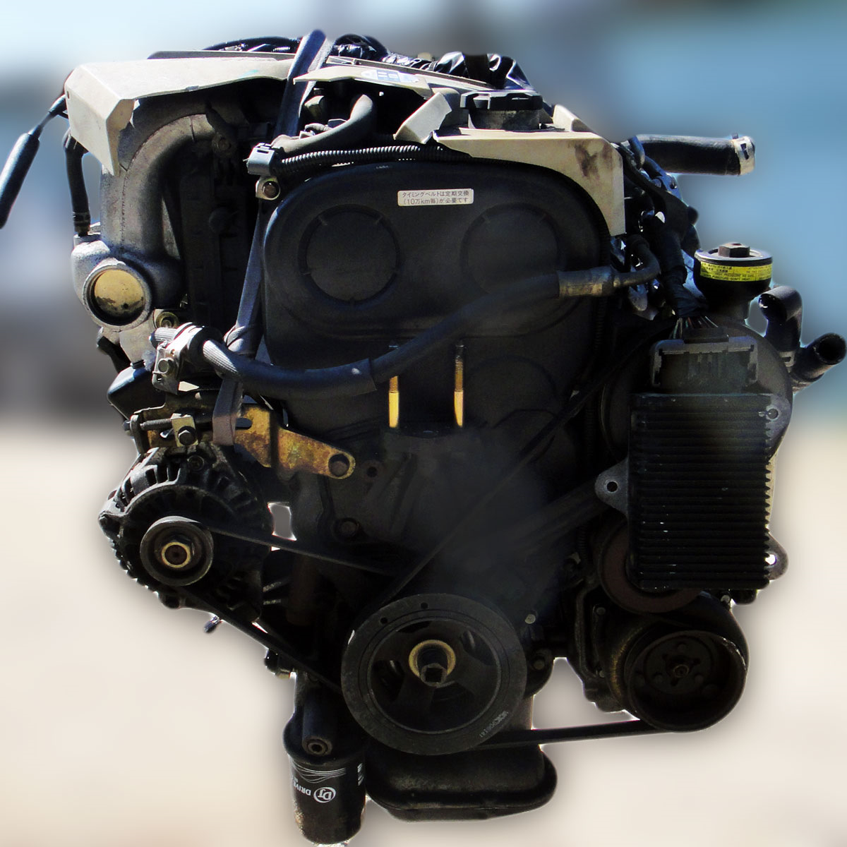 установка ремня инструкция к мотор 4g91
