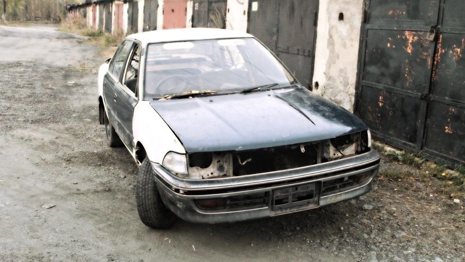 toyota sprinter 1991 ремонт электрики