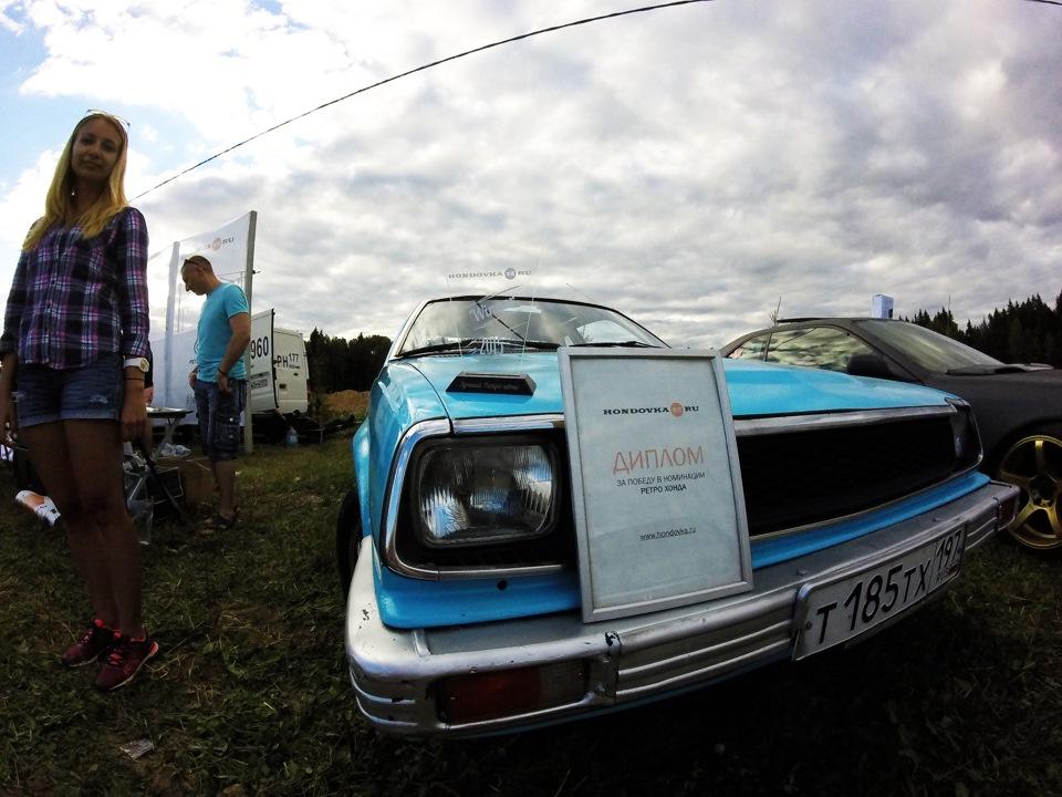 Моя легенда на Hondovka 2015