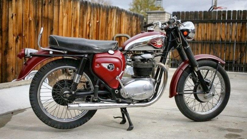 Мотоцикл BSA нашим мотоциклистам был не известен