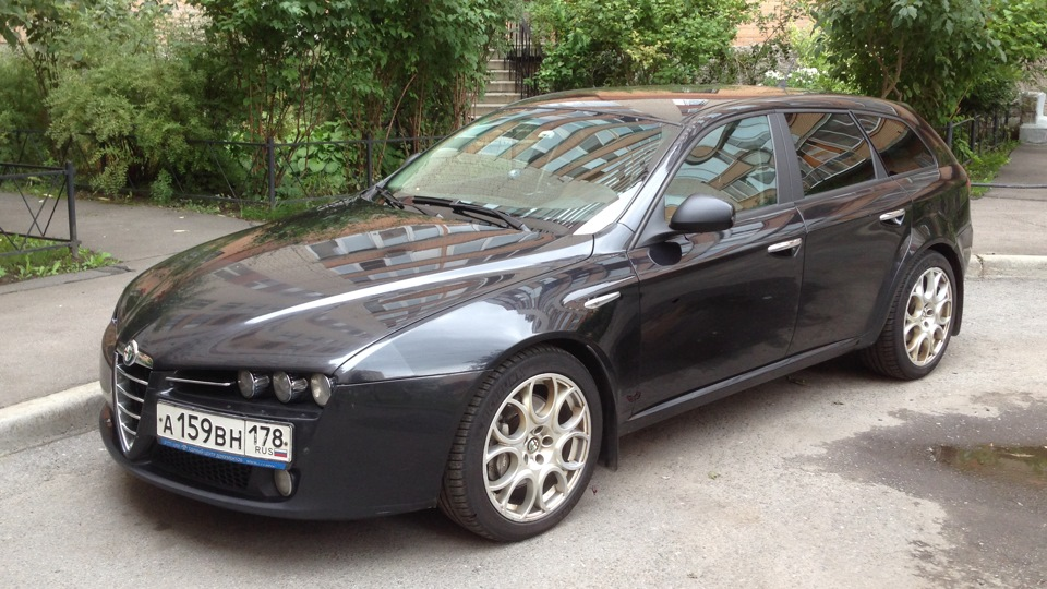 alfa romeo 159 sportwagon 2 4 jtdm q4 drive2. Black Bedroom Furniture Sets. Home Design Ideas