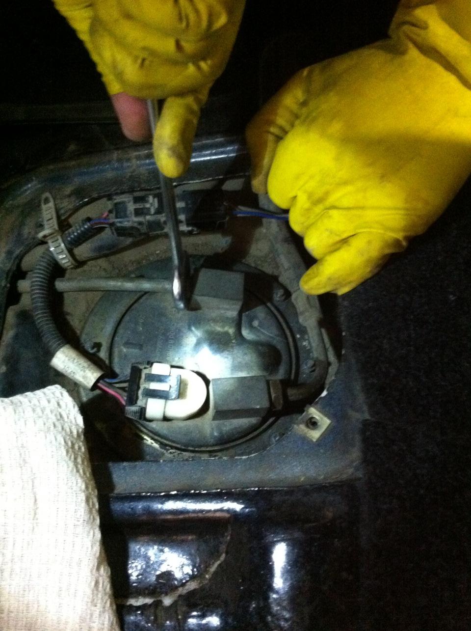 Фото №43 - замена топливного фильтра ВАЗ 2110