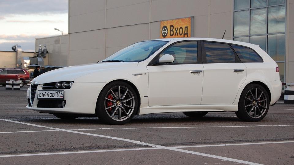 alfa romeo 159 sportwagon q4 white ti drive2. Black Bedroom Furniture Sets. Home Design Ideas