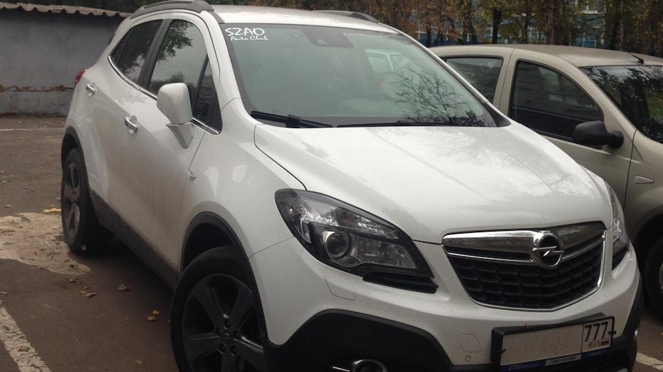 Opel Mokka обзор