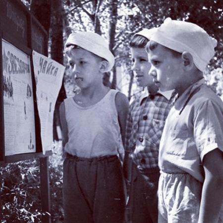 Еще одна интересная тема — Детские пионерские лагеря в Советском союзе