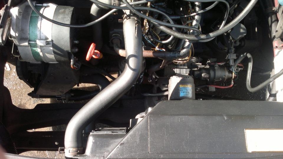 купить патрубки системы охлаждения на пассат б3
