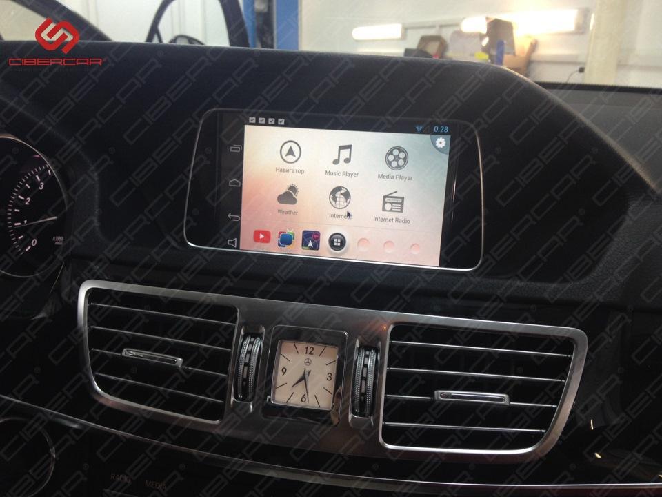 Лаунчер навигационной системы Андроид.