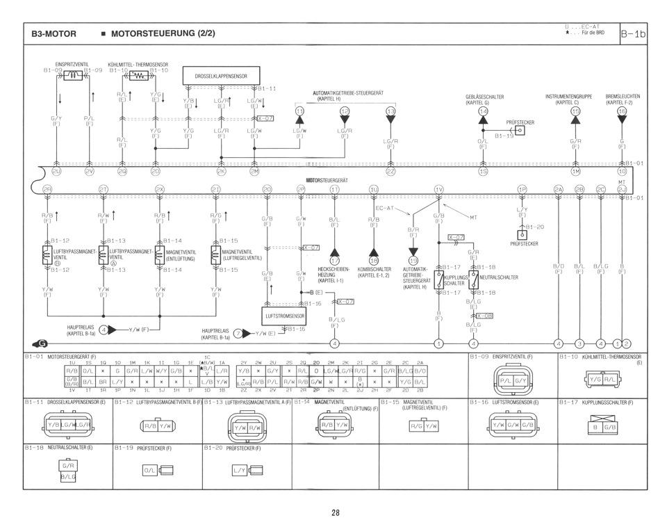 Mazda 121 II DB Электрическая