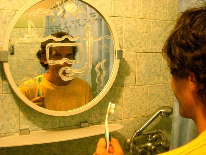 Зеркало картинки приколы
