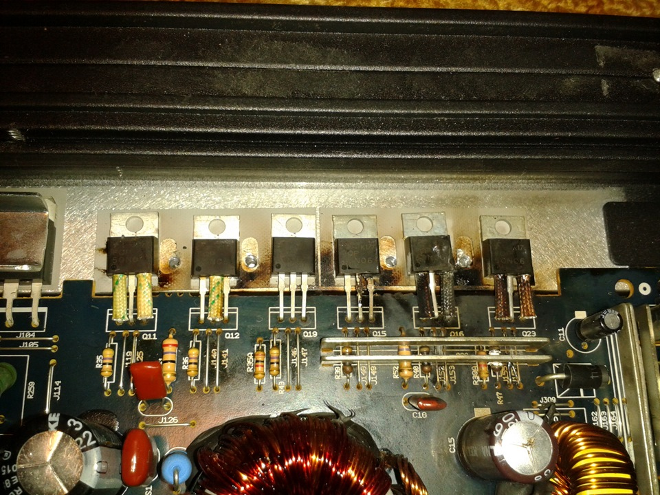 подозрительные транзисторы