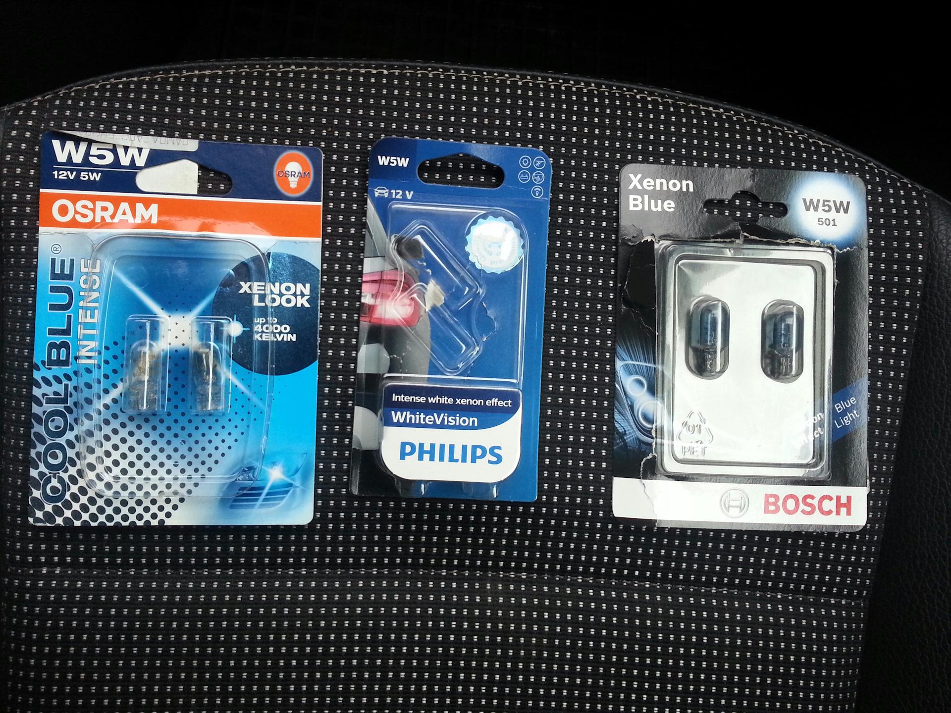 Philips W5W LED   eBay